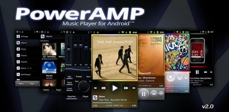 Poweramp полная версия скачать бесплатно для андроид.